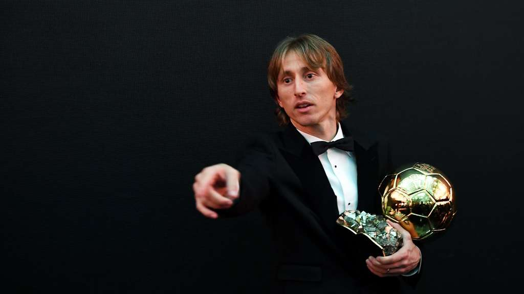 Luka Modric von Real Madrid hat den Ballon d'Or 2018 gewonnen.
