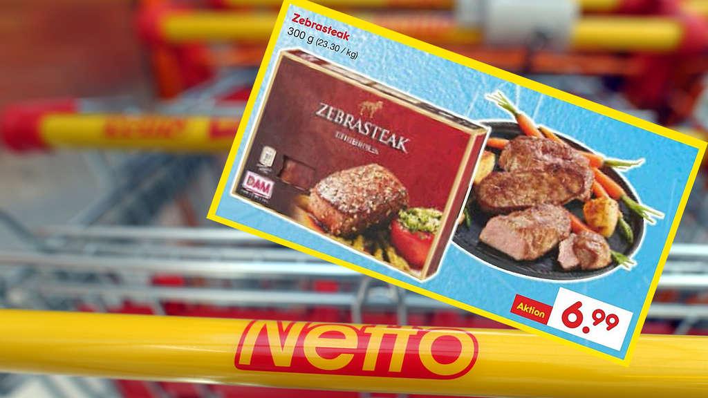 Zebrasteak Netto