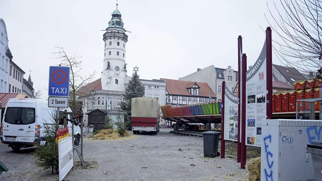 Weihnachtsmarkt Salzwedel.Salzwedels Händler Haben Gespaltene Meinung Zum Weihnachtsmarkt Und