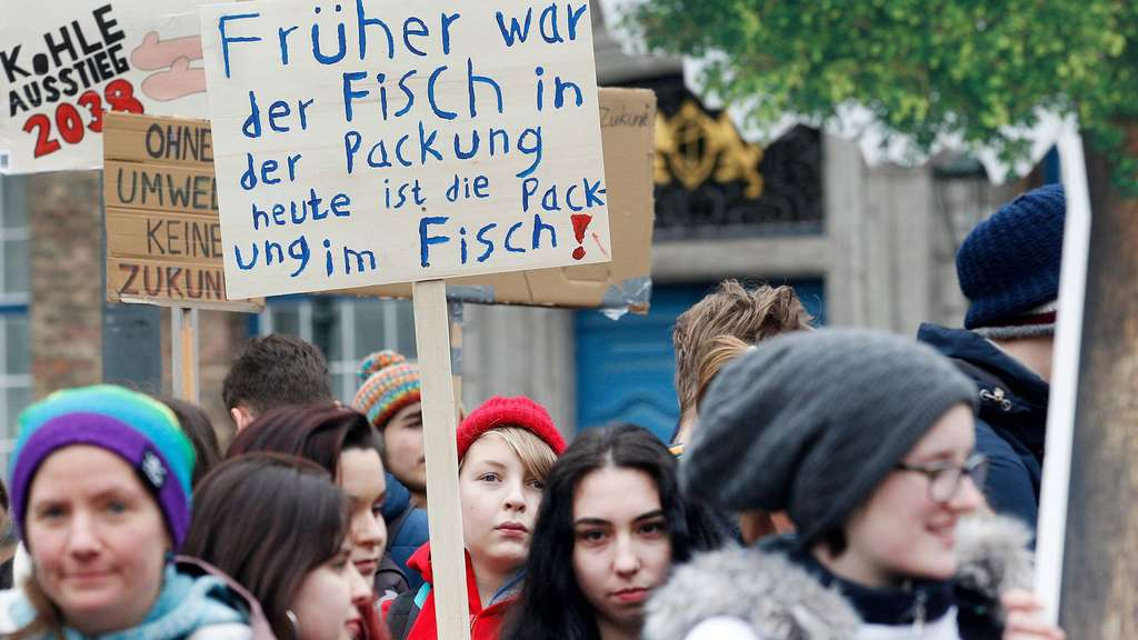 """Friday For Future: """"Friday For Future""""-Bewegung: Protest-Aktion Soll In"""