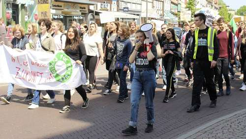 "Am Freitag war zweite Uelzener ""Fridays for Future""-Demo"