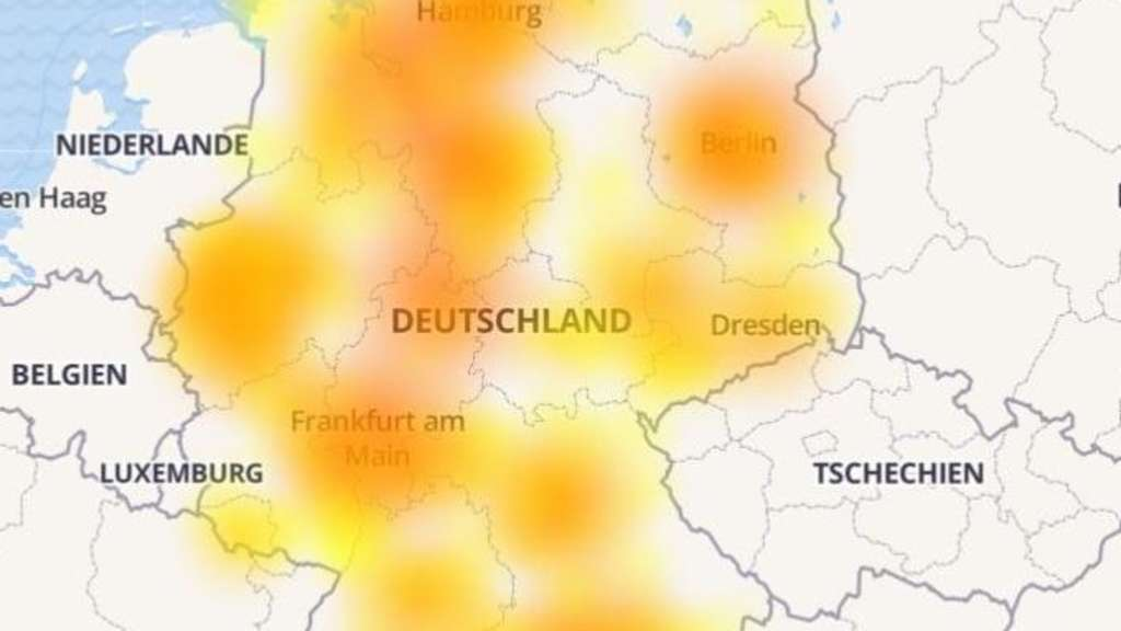 Vodafone: Erneute Ausfälle beim Internet in Deutschland ...