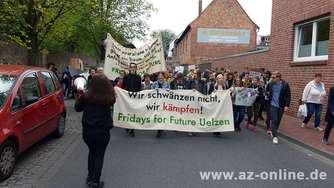 Klima-Demo in Uelzen