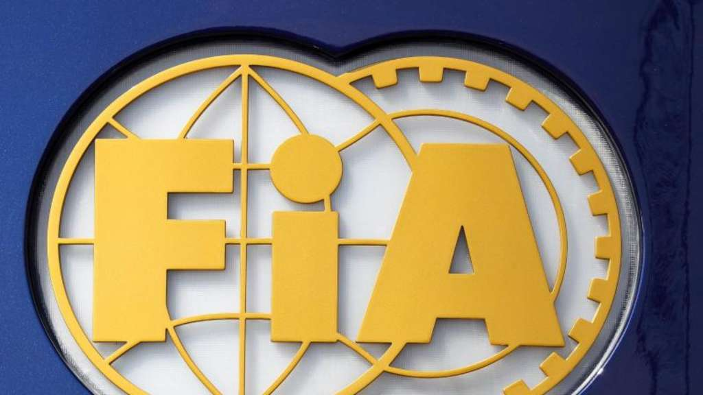 Das Logo der FiA (Federation Internationale de l&#39Automobile). Foto: Jan Woitas/zb/dpa