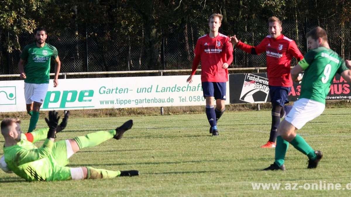 Lukas Burghardt trifft FCO ins Herz – 1:0 | Lokalsport Uelzen - az-online.de