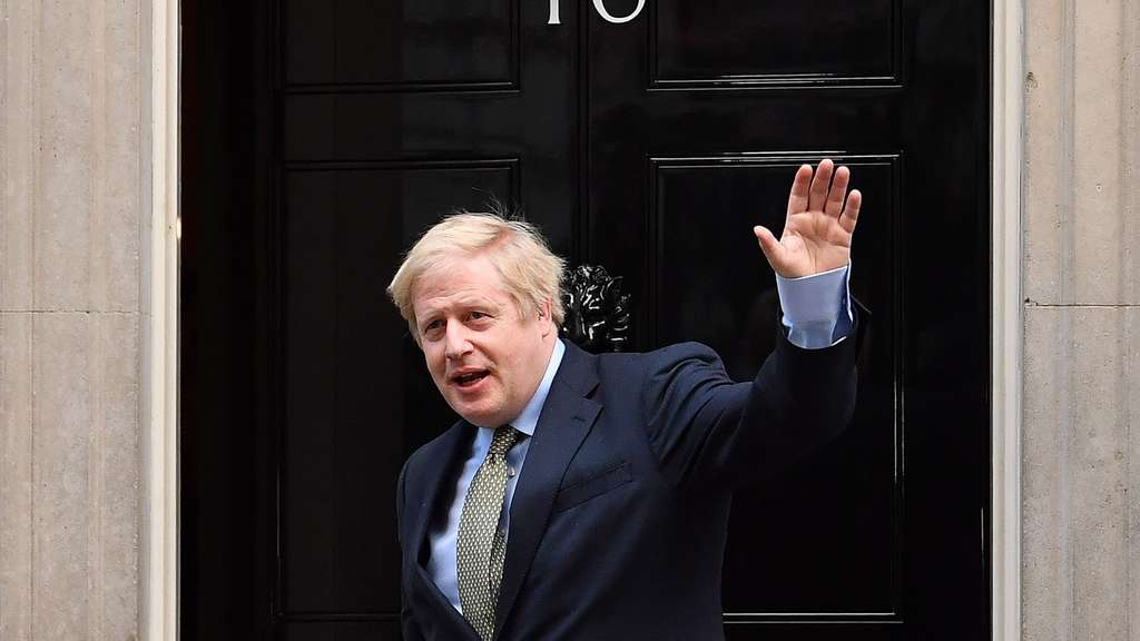 Triumphator: Boris Johnson.
