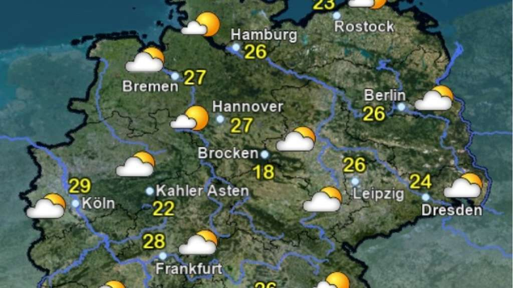 Wettervorhersage Nrw