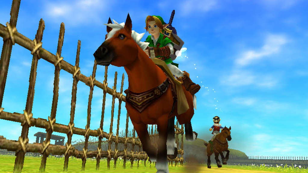 "Screenshot aus ""The Legend of Zelda: Ocarina of Time 3D"""
