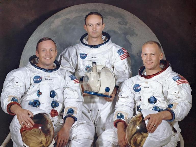 Armstrong, Collins, Aldrin